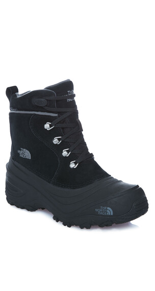 The North Face Chilkat Lace II Shoes Youth tnf black/zinc grey